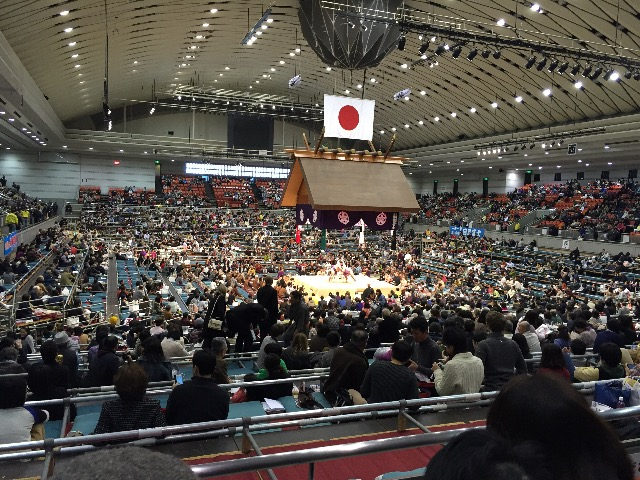 大相撲春場所初日観戦してきまし...